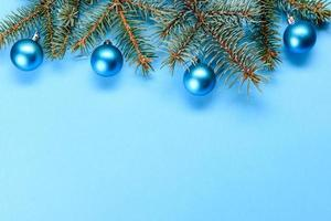 fondo decorativo de colores brillantes de navidad foto