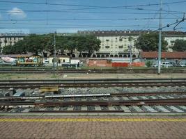 Torino Porta Nuova train station photo