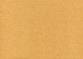 Brown corrugated cardboard background photo