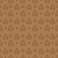 Seamless Pattern of Vintage Wallpaper vector