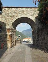Village of Donnas eastern gate photo