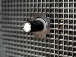 viejo sintonizador de radio am fm foto