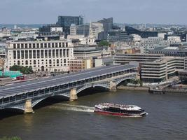River Thames in London photo