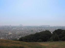 Aerial view of Edinburgh from Calton Hill photo
