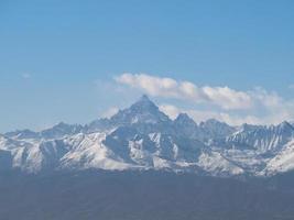 monviso monte viso montaña foto