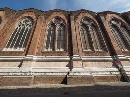 San Petronio church in Bologna photo