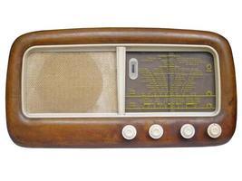 viejo sintonizador de radio am foto