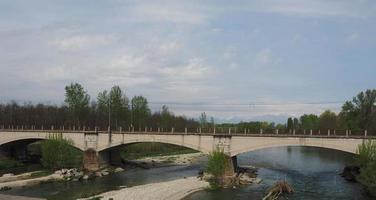 Bridge over River Orco in Brandizzo photo