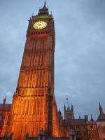 Big Ben en Londres foto