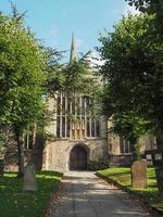 iglesia de la santísima trinidad en stratford upon avon foto