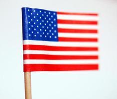 bandera americana de los estados unidos foto