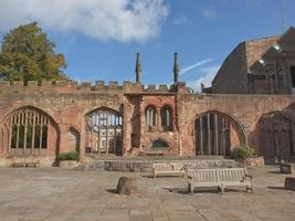 Coventry Cathedral ruins photo