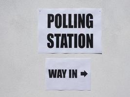 colegio electoral de elecciones generales foto