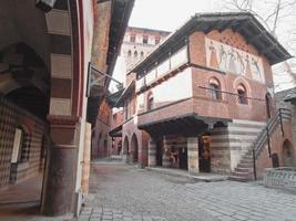 Medieval Castle, Turin photo