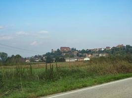 View of the city of Pralormo photo