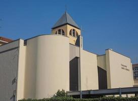 iglesia santa mónica turín foto