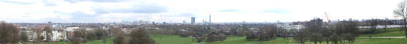 Panoramic view of London photo