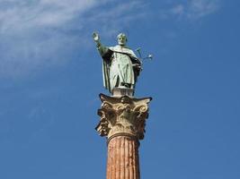San Domenico column in Bologna photo