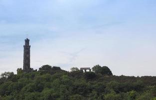 Calton Hill en Edimburgo foto