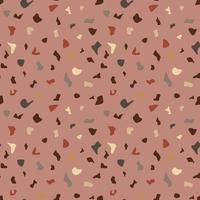 Terrazzo vector seamless pattern color.