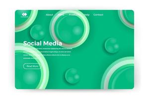web page design templates for business, finance and marketing. vector