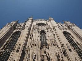 Duomo meaning Cathedral in Milan photo