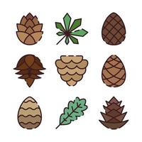Kinds of Pinecone vector