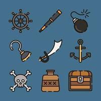 The Pirates Equipment Item vector