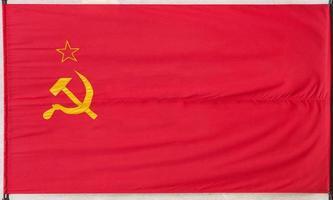 bandera de la unión soviética foto