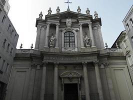 iglesia de santa teresa, turín foto