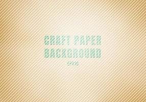 Craft paper brown corrugated cardboard stained texture background vector