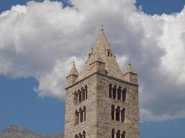 iglesia de sant orso aosta foto