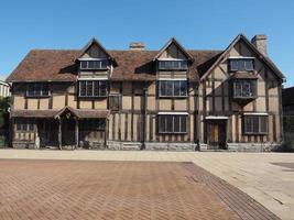 lugar de nacimiento de shakespeare en stratford upon avon foto