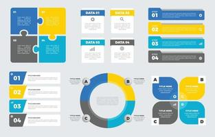 Business Infographics Element Set vector