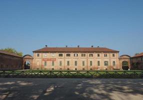 Palazzina di Stupinigi royal hunting lodge stables in Nichelino photo
