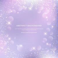 abstract glitter pattern, Background of fantastic sparkle lights vector