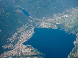 Aerial view of Locarno photo