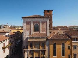Aerial view of Verona photo