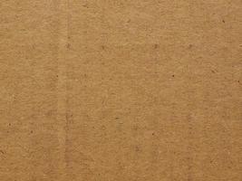 Fondo de cartón corrugado marrón foto