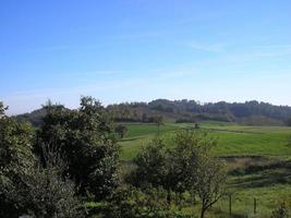 panorama de las colinas de marcorengo foto