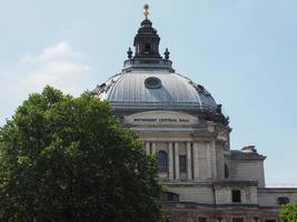 Hall central metodista en Londres foto