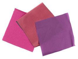 Purple fabric sample photo