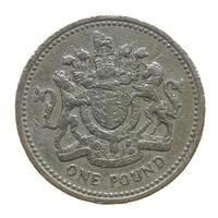 1 pound coin, United Kingdom photo