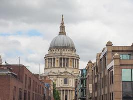 St Paul Cathedral in London photo