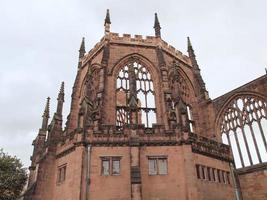 ruinas de la catedral de coventry foto