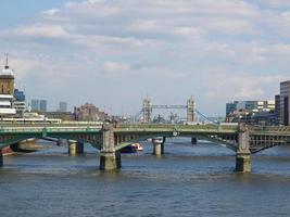 río Támesis en Londres foto