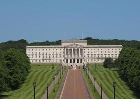 Stormont Parliament Buildings in Belfast photo