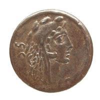 moneda romana antigua foto