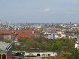 Berlin aerial view photo
