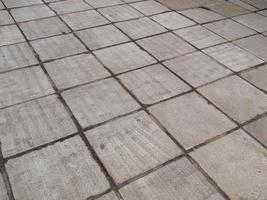 Concrete sidewalk pavement photo